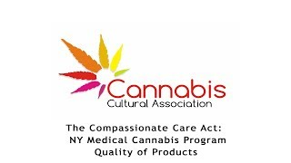 NY Medical Cannabis Quality of Products