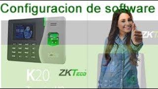 ZK Access 3.5 -CONFIGURACION-Horarios y Turnos CONTROL BIOMETRICO.