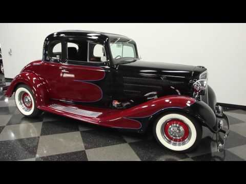 528 TPA 1934 Chevy Master 5 Window Coupe - YouTube