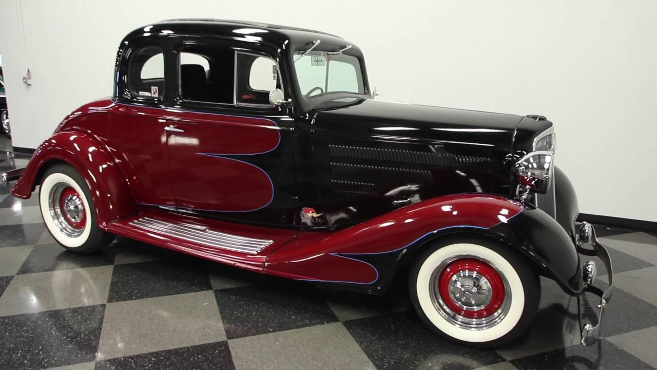 528 TPA 1934 Chevy Master 5 Window Coupe