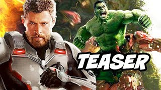 Avengers Endgame Teaser - Cameos and New Avengers Costumes Breakdown