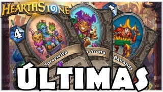 HEARTHSTONE - ÚLTIMAS CARTAS REVELADAS! (O RINGUE DO RASTAKHAN)