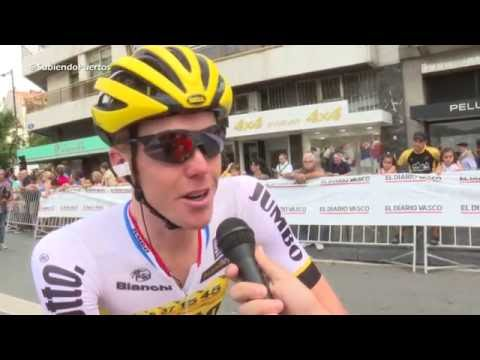 Steven Kruijswijk ( Lotto NL Jumbo ) Interview before Clasic
