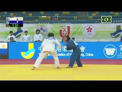 Korea - Kazakhstan (Women) | Asian Team Judo Championships 2017