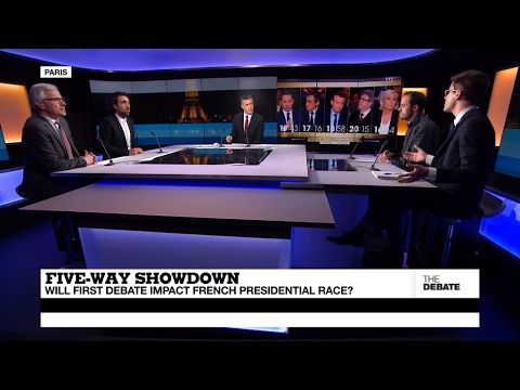 Five-Way Showdown: Will first debate impact French presidential race? (part 2)