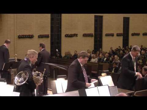 Christmas Brass & Organ concert December 5, 2016