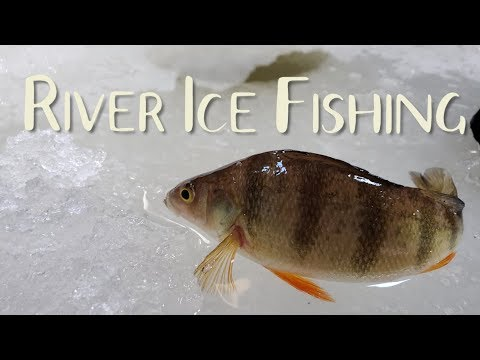 River Ice Fishing