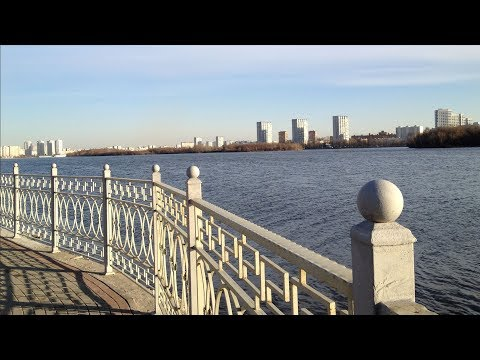 Тimelapse. Russia. Moscow. South port