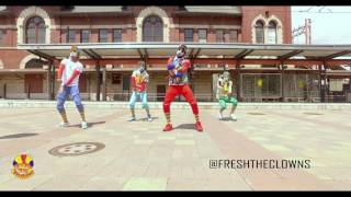 Kinda Wavy -  Fresh The Clowns ( official dance video) #KINDAWAVYCHALLENGE