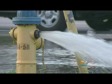 Water Main Break Leaves Mess In Pembroke Pines