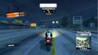 Burnout Paradise Motorcycle Gameplay PC