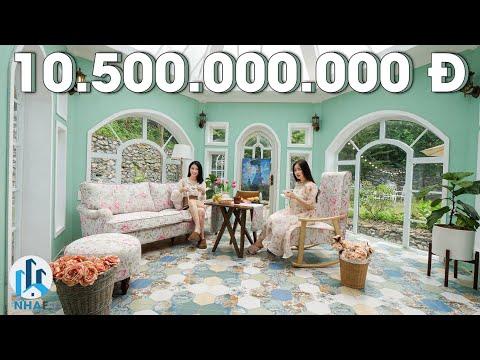 """Trải Nghiệm Biệt Thự """"VINTAGE"""" Trị Giá 10,5 TỶ rộng 1000m2 tại Beverly Hill Hòa Bình – NhaF [4K]"""