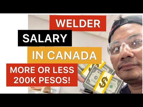 WELDER SALARY IN CANADA PER MONTH (2012)  | PINOY WELDER IN CANADA | JOBS IN CANADA