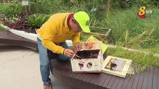 首个蜜蜂城市屋顶花园 推动蜜蜂保育