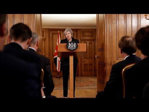euronews (en français): Brexit : Theresa May entre démissions et rébellion