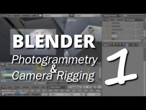 Blender Photogrammetry tutorial - Part1