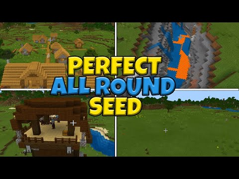 (Super FLAT) Perfect ALL ROUND Seed Minecraft Bedrock Edition (PE, Xbox, Switch, Windows)