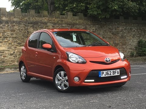 Toyota Aygo 1.0 5 door Fire for sale at Peter Watson Skipton Ltd