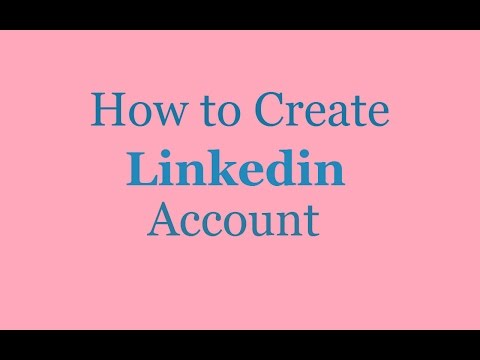 How to Create a Jobs/Company/Business Profile on Linkedin - 2016