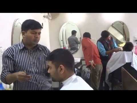 Suraj Sharma at Hair Salon in Connaught Place A Block, Royal