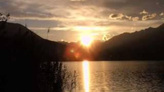 Camping Continental Lido, Lago di Mergozzo,  Zonsondergang