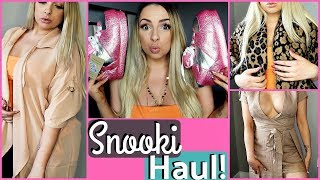 I Bought Things From SNOOKI'S WEBSITE! (Try On Haul)