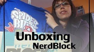 Unboxing Nerd Block April 2014