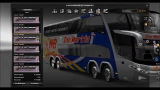 Mod de passageiros + Onibus G7 1800 ets2 1.16