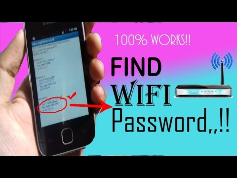 How to HACK WiFi Password in Your Android Handset 2017!!