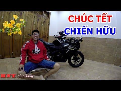 HƯNG NHATRANG CHÚC TẾT CÁC CHIẾN HỮU | TẾT 2018| MotoVlog Nha Trang