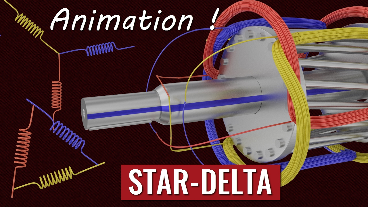 Understanding Star Delta Starter Youtube How To Wire A Two Way Switch Premium