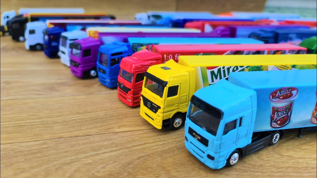 Driving Trucks by hand European and American trucks
