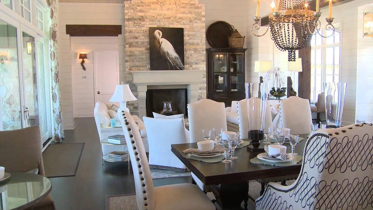 episode 2 southern living showcase home living room. Black Bedroom Furniture Sets. Home Design Ideas
