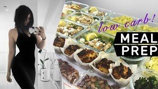MEAL PREP WITH ME: 7 Lower Carb Ideas! // Rachel Aust
