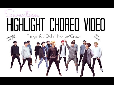Thumbnail: Seventeen Highlight Choreography Video Things You Didn't Notice/Fangirl ver./Crack