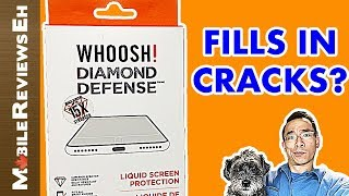 Whoosh! Diamond Defense Review - Liquid Screen Protector for smartphones, watches and tablets