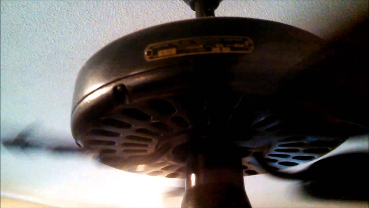 Cast Iron Oil Bath Ceiling Fans In A Collector S House You