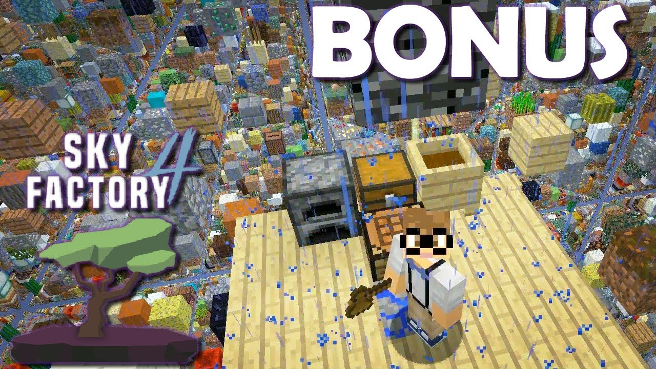 BONUS: SkyFactory in a Sky Grid!