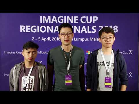 Imagine Cup Regional Finals 2018, Team HealthSight from Malaysia