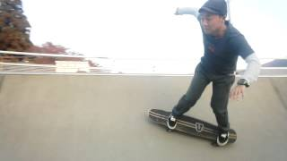 46歳 サーフスケートで生まれて初めてのボウルIN.
