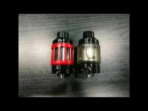 Replaceable Atomizer Tubes, Optional E-liquid Capacity