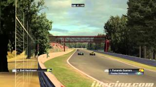 iRacing : Contrastes entre stints (F1 - Spa)