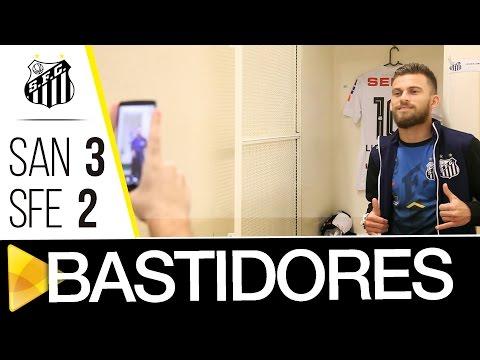 Santos 3 x 2 Santa Fé | BASTIDORES | CONMEBOL Libertadores Bridgestone (04/05/17)