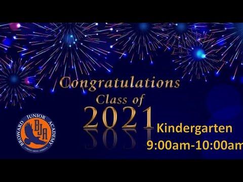 Broward Junior Academy Graduation | Class of 2021 Kindergarten | 05.23.21
