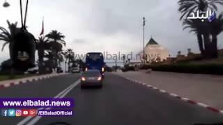 الزمالك يتحرك لملعب مولاى عبد الله استعدادا لمواجهة الوداد .. فيديو وصور