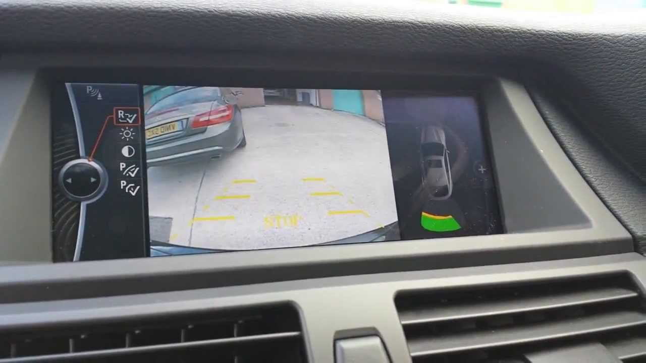 Bmw X5 E70 And X6 E71 Reverse Camera Fitted To Existing