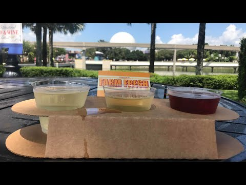 Epcot Food and Wine Festival Opening Day 2017!