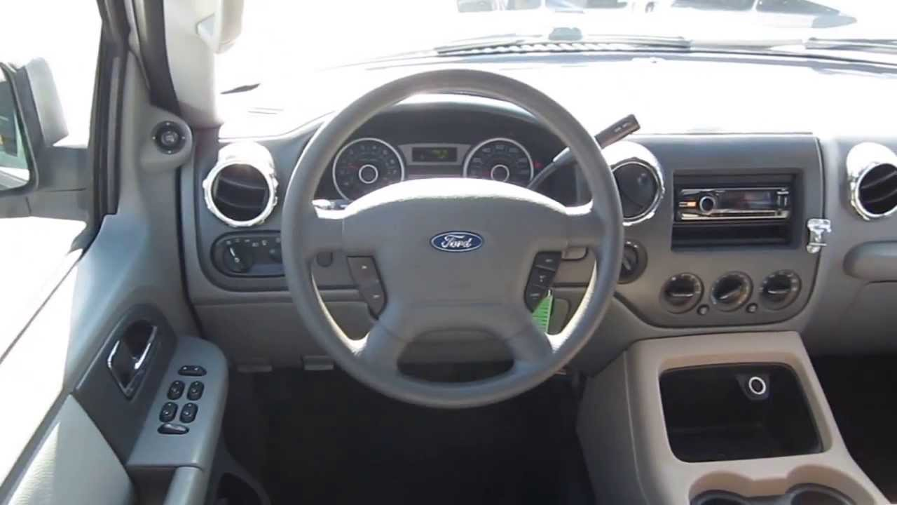 Ford Expedition White Stock Bb Interior