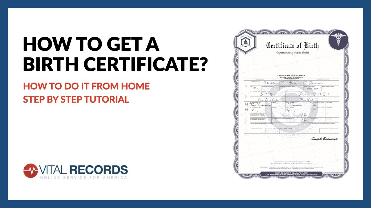 certificate birth