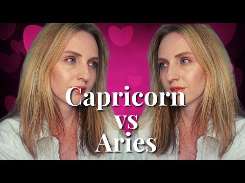 CAPRICORN VS ARIES   Love & Anger Relationship Compatibility   Hannah's Elsewhere